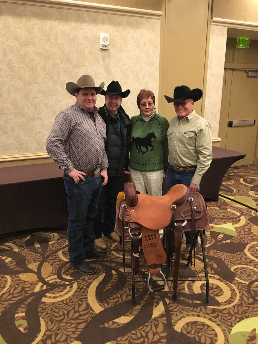 BTPH: Training Services. Foundation Saddle Winner